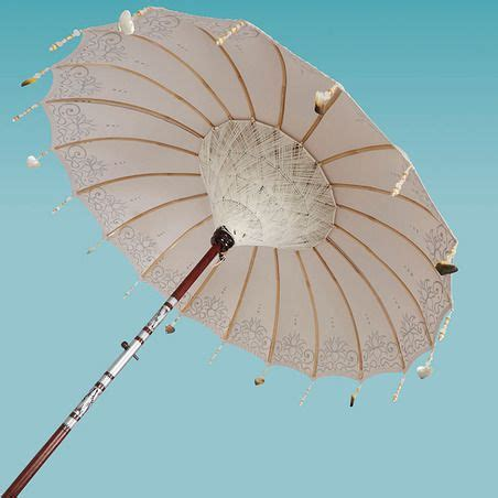 Pearl Umbrella oyster pearl painted the paradise collection indian