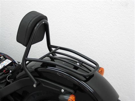 Harley Davidson Backrest And Luggage Rack by Harley Davidson Softail Blackline Driver Backrest And