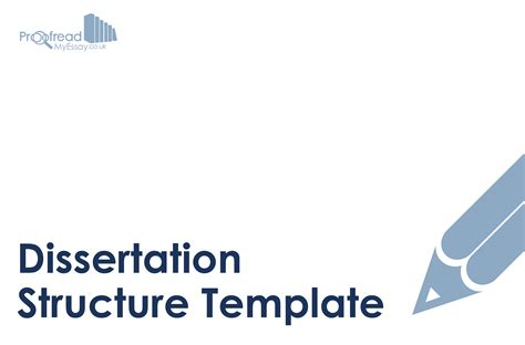 dissertation template word get it right with our dissertation structure template