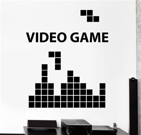 Video Game Wall Murals gaming video game computer gameplay home decor wall