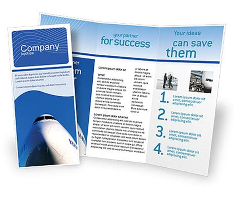 ready made templates for brochures aircraft ready to fly brochure template design and layout