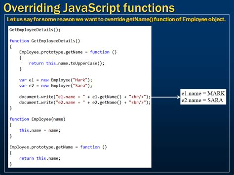tutorial javascript function sql server net and c video tutorial overriding