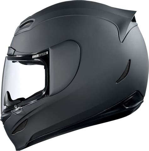 icon airmada rubatone mat siyah full face motosiklet kaski