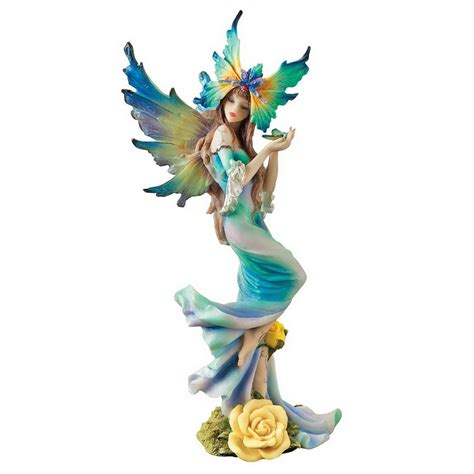 Lowes Bathroom Designer by Shop Design Toscano Hand Painted Resin Fairy At Lowes Com