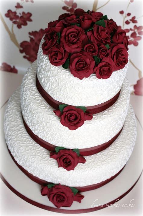 pin wedding cakes30 cake on pinterest rosas rojas boda pastel pinterest rosas rojas