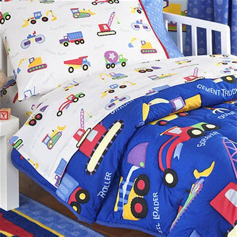 Construction Baby Bedding by Olive Construction Toddler Bedding The Frog