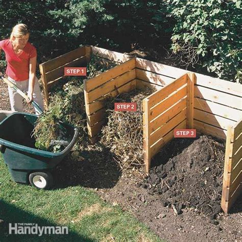 backyard composting bin composting tips the family handyman