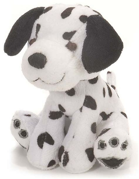 dalmatian dog plush keychain stuffed animal by wild republic