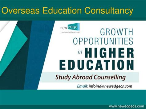 overseas education study abroad consultants ppt study in usa overseas education consultants for usa