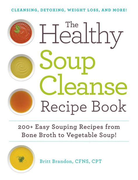 Detox Recipe Book by Detox Soups Healthy Soup Recipes Fitness Magazine