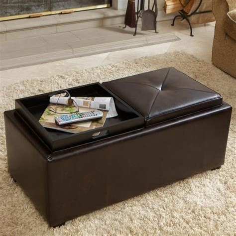 coffee table or ottoman 25 best ideas about ottoman coffee tables on