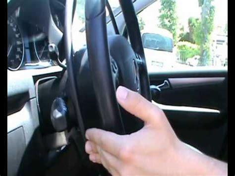 l volante acceleratore al volante k5 leva freno lungo braccio su