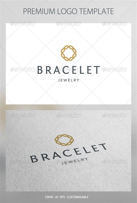Bracelet   Abstract Symbol Logo Template   GraphicRiver