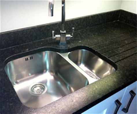 Cutting Granite For Undermount Sink by What Type Of Sink Do I Need For A Granite Worktop Diy