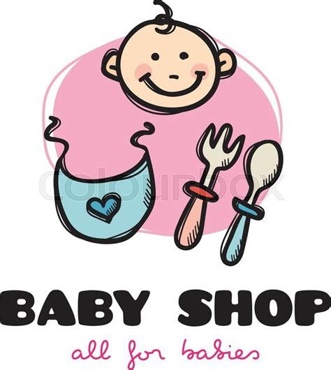 as top 9 mhr baby shop vector funny cartoon style baby shop logo sketchy doodle