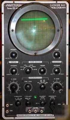 vintage precision cathode ray oscillograph es