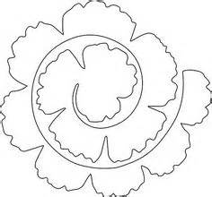 Flower template on pinterest templates paper flowers and paper