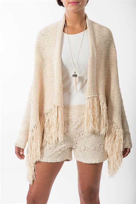 fringed cardigan bcbg max azria fringed cardigan from new york by violet s