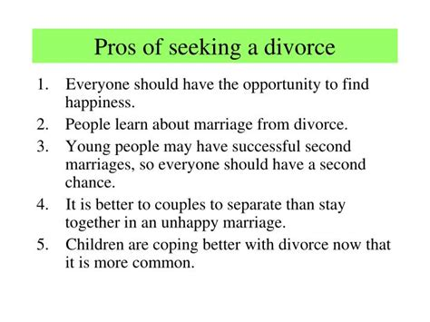 divorce is better than an unhappy marriage ppt marriage powerpoint presentation id 4091343