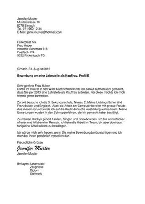 E Mail Bewerbung Lehrstelle Bewerbungsdossier By Andreas Gm 252 R Issuu