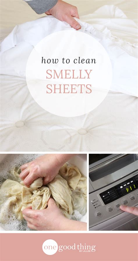 how to get the smell out of musty bed sheets one