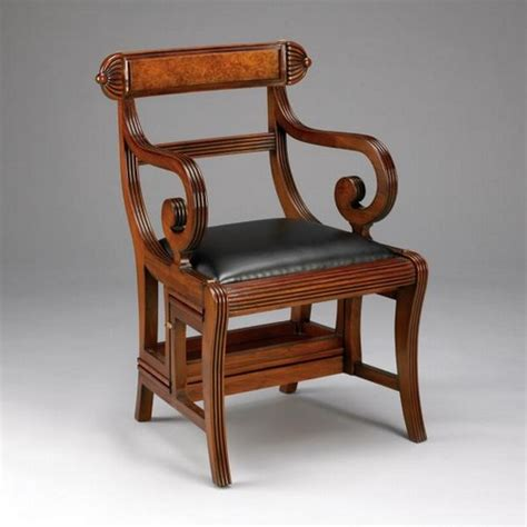 Armlehne Englisch by Englisch Regency Library Chair