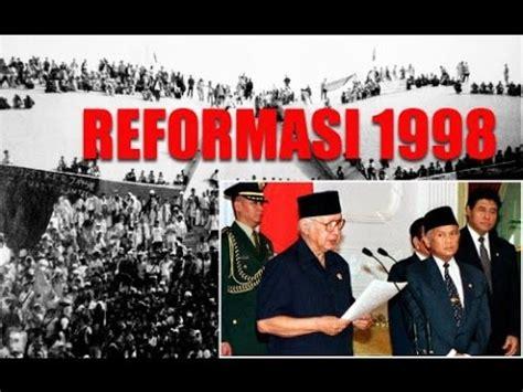 Film Dokumenter Reformasi | gerakan reformasi 1998 film dokumenter youtube