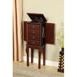 Kmart Jewelry Armoire by Linon Espresso Jewelry Armoire Home Furniture