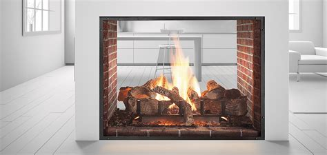 How To Light A Heat And Glo Fireplace by Heat N Glo Escape See Through Gas Fireplace