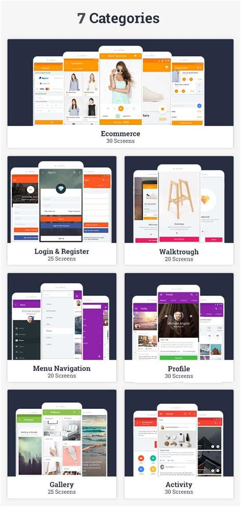 Ui Templates For Ios 180 Ui Templates For Your Ios App Projects By Wpbootstrap Ios Project Templates