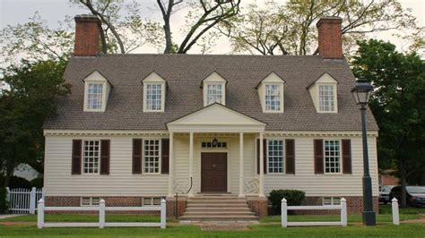 Colonial Williamsburg Style House Colonial Williamsburg Colonial Williamsburg House Plans