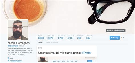 layout su twitter nuovo layout twitter sempre pi 249 simile a facebook
