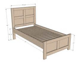 Bed Frame For A Bed Frame Plans Bed Plans Diy Blueprints