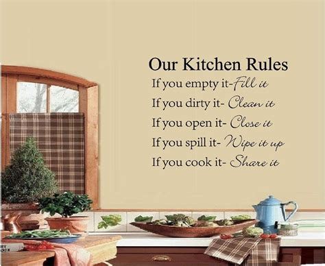words for the wall home decor our kitchen vinyl wall quote saying words vinyl