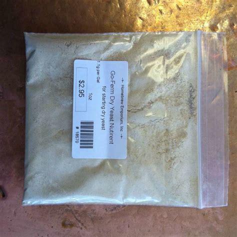 yeast rehydration go ferm 174 yeast rehydration nutrient homebrew