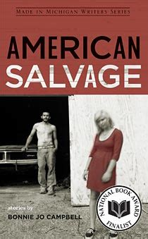 michigan books american salvage stories by bonnie jo
