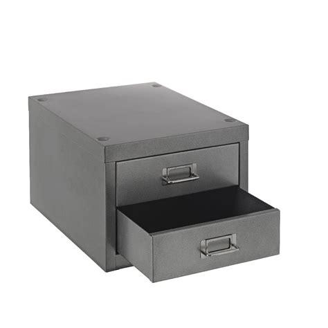 Desktop Filing Cabinet New Spencer Desktop 2 Drawer Office Filing Storage Cabinet A4 Silver Ebay