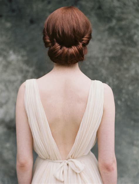 Vintage Hairstyles Wedding Day by Unique Hairstyles For Your Wedding Day Once Wed