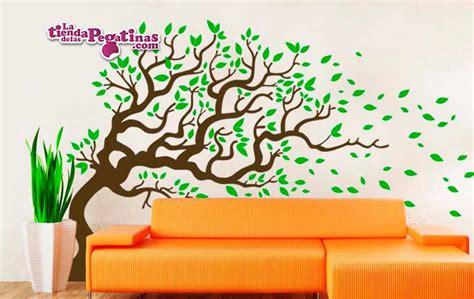 arboles decorativos vinilo decorativo 193 rbol con viento 2 la tienda de las