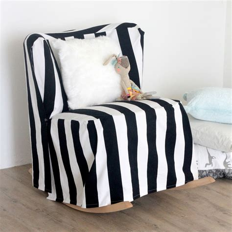 easy chair cover ideas a striped slipcovered chair