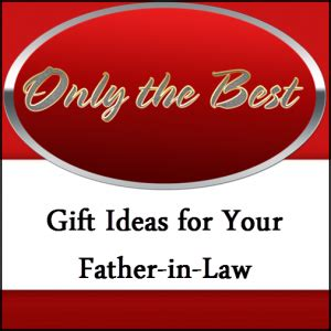 Gift Ideas For The Inlaws - gift ideas for in five top list