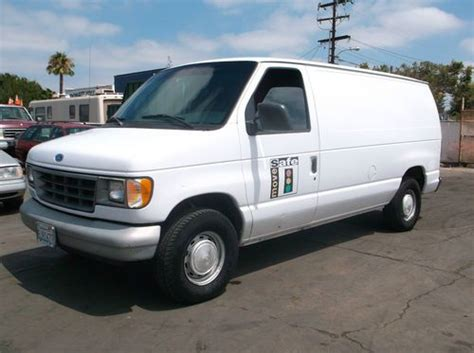 books on how cars work 1996 ford e series user handbook sell used 1996 ford econoline no reserve in orange california united states