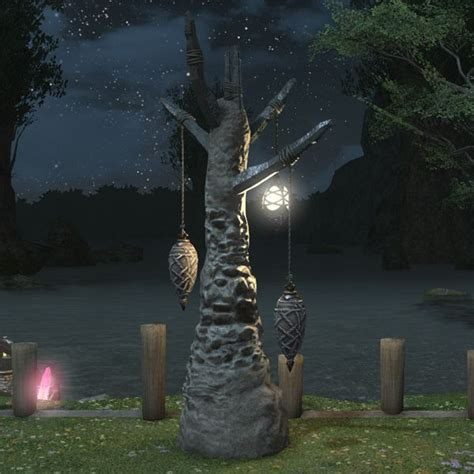 Home Painting Interior gnathic lamp tree ffxiv housing outdoor furnishing