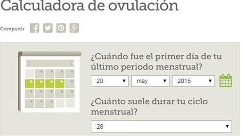 Calendario De Ovulacion Y Dias Fertiles Calculadora Dias Fertiles Implantacion