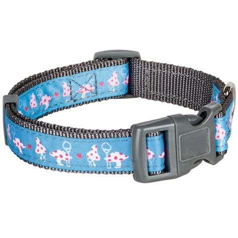 blueberry collar blueberry pet vibrant triangle floral garden and pattern collar
