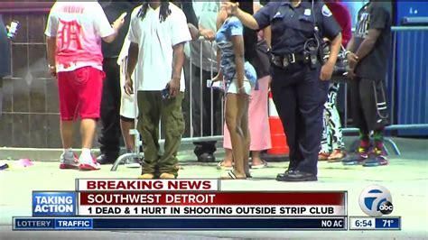 jaguar club detroit 1 dead after shooting at detroit club