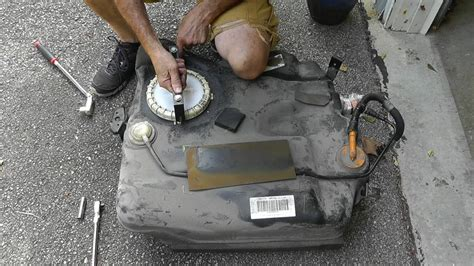 how to remove fuel tank from a 2008 scion tc 2005 mazda 3 fuel pump replacement part 2 fuel pump and tank replacement youtube