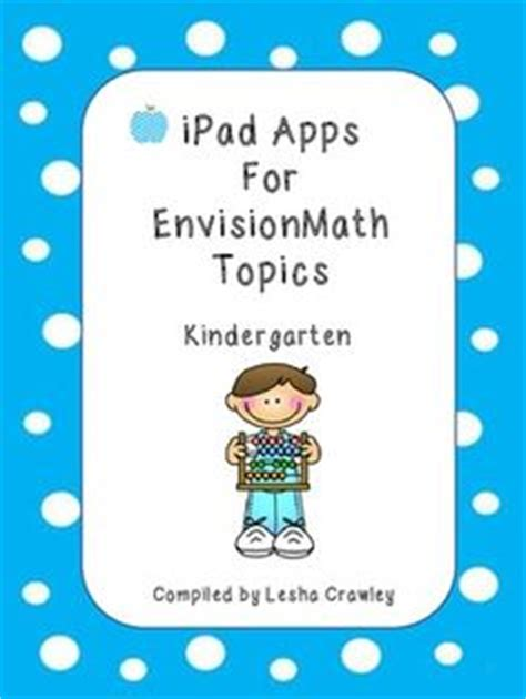 Envision Math Kindergarten Worksheets by Envision Math On Math Teaching And Classroom