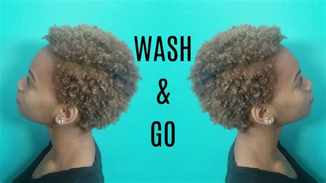 natural 4c wash and go natural hair wash go s don t work wash n go routine on short natural 4c hair youtube