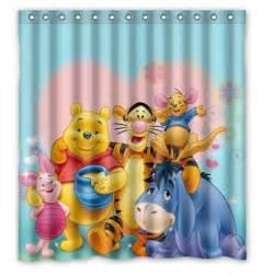 Winnie The Pooh Bathroom Accessories Aliexpress Buy Free Shipping Winnie The Pooh Custom Shower Curtain Home Decor Bathroom